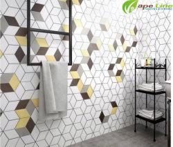 Foshan Ceramic Sérigraphie Surface mate mur de brique de tuiles hexagonales