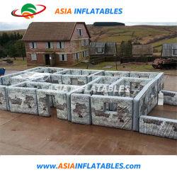 Etiqueta de láser militar, el Ejército de Paintball de camuflaje Bunker para el rodaje de juego