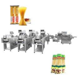 Em grânulos Arroz Stick massas alimentícias secas Esparguete Flowpack horizontal do conjunto de almofadas de máquinas de estanqueidade de embalagens de acondicionamento automático a uma máquina de máquinas