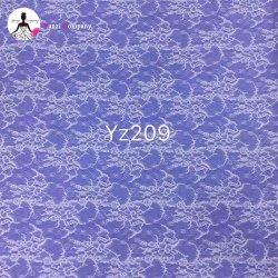 Мода кремовый Guipure кружевной ткани кружево свадебные платья