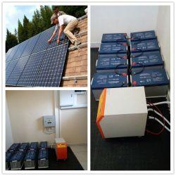 지원 설치 5kW 10kW 솔라 전원 시스템 배터리 보관 / 태양열 에너지 시스템 나만의 집을 만들어 보세요