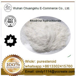 99 % Puirty Fine poudre chimique chlorhydrate de Ritodrine