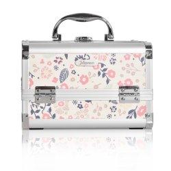 Дисплей ювелирные изделия из алюминия красоту женщин Bag Транспортировочный кейс 9HB-2007)