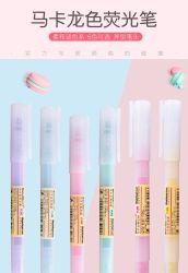 Surligneur avec poignées durables des couleurs pastel 6 couleurs