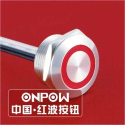 Micro- van de Draad van Onpow de Belangrijke Schakelaar van de Reis (gq19w-af-10E/Y, 19mm, Ce, RoHS)