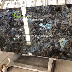 Cristal diamante azul únicas especiais lajes de mármore para Hotel