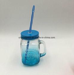 La moitié de la pulvérisation bocal en verre bouteille potable