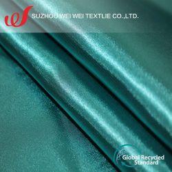 50d*50d recycler Bright Twisted Satin pour Robe Robe de nuit et sous-vêtements/