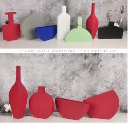 هدية فريدة من نوعها بسيطة من Iron Vase لتناول الطعام في غرفة المعيشة زينة الطاولة مع زينة زهرة