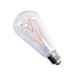 La Chine Soft fournisseur Filament lampe à incandescence LED souples pour l'intérieur de l'éclairage