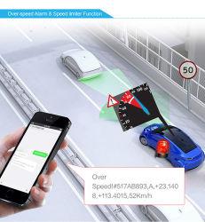 Résistance aux températures élevées GPS avec capteur de température du capteur de carburant de l'alcool limiteur de vitesse du capteur de voiture Tracker (TK108-KH)
