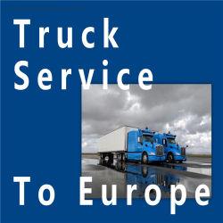 De Verschepende Vrachtvervoerder van de vrachtwagen DDU aan het UK