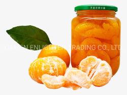 Hitzebeständige ausgeglichene freie runde luftdichte Glasdosen-orange Frucht-Konserve-Glas-Glas