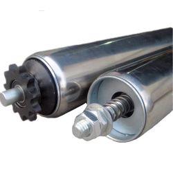 チェーン駆動コンベア用、調整可能な累積スプロケット付きヘビーデューティコンベアローラー