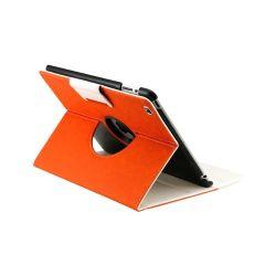 Поворот на 360 градусов PU кожаная сумка крышка подставка для iPad 4/3/2 (LTW1C01)
