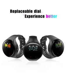 Montre intelligente avec Ecouteurs sans fil Bluetooth, Casque sans fil Bluetooth 2 FR 1, Moniteur de sommeil, Musique, fréquence cardiaque, pression arterielle