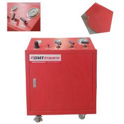 Canalización de neumáticos de agua bomba de la prueba de presión hidrostática
