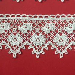 Guipure impresionante Guarnecido de encajes artesanía Breite Guipure Spitze de coser