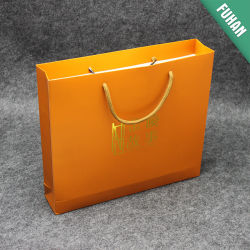 Custom Print 250 г/кв.м, 350 GSM оранжевого цвета печати бумажных мешков для пыли