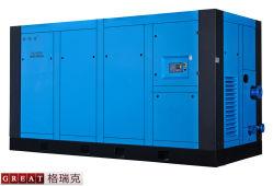 Com vários estágios de Alta Pressão de compressão do Compressor de ar de parafuso rotativo