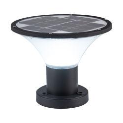 Водонепроницаемая IP65 для использования вне помещений высокий люмен ворот после стойки лампы светодиодные лампы освещения Lightings оформлением датчик солнечного сада светодиодный индикатор