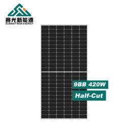 통합 인버터 리튬 배터리 조절기가 있는 태양광 패널