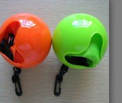 Bolsa de compras plegable con bolas de plástico plegables de Bolso de compra