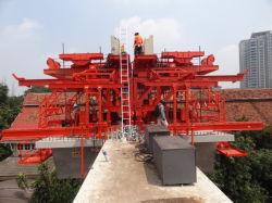رافعة ثلاثية الأقسام من منصة جسر للاستخدام في الصناعة