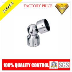 Pasamanos de acero inoxidable Accesorios conector de codo de tubo redondo (JBD-A022)