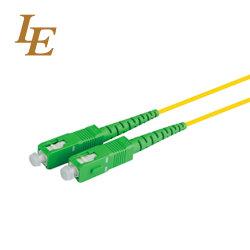 Sc/SC/APC APC-Single mode Simplex les cordons de brassage