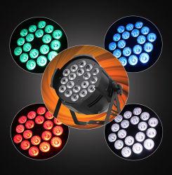 18X10W RGBW 4in1 LED 동위 점화 LED 동위 단계 빛이 단계 점화 LED 동위에 의하여 점화한다