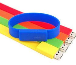 De hete Verkoop Aangepaste Manchet van het Silicone USB