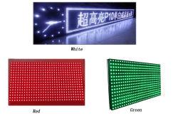 Freies im Freienweißes des Text-P10/Gelb/bernsteinfarbiges/Orange/Grün/Bule/rote LED-Bildschirmanzeige-Baugruppe