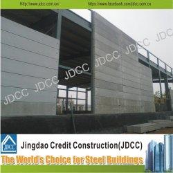 Estructura de acero paneles compuestos de cemento Nave