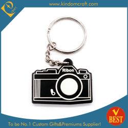 中国の方法様式のカスタマイズされたカメラの形の PVC のキーチェーン 高品質