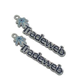 Diseño de moda corazón colgante precio más barato Venta caliente encanto con circones 925 Silver para Collar (encanto-01)
