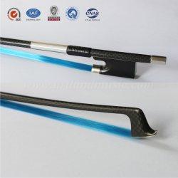 합성 바이올린 활 머리 다채로운 탄소 섬유 (NB970C)