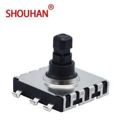 Interruptor Tact 10*10 5 Direcção Center-Push SMT/SMD tátil do interruptor de ignição com Cabeça Quadrada Skrhabe010