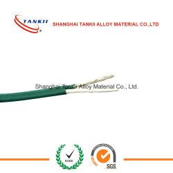 Cable Extendido de Color Verde TC con Alambre de Cobre para Apanllado