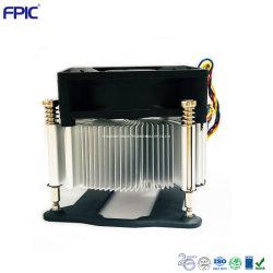 Abitudine elettrica del sistema di controllo di temperatura che timbra il dispositivo di raffreddamento del CPU del dissipatore di calore del metallo della lega di alluminio