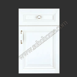 MDF with PVC Wrap Kitchen Cabinets Zz70b (Tiramisu)