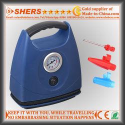 타이어 부풀리는 장치, 압력 계기 (SH-132)를 가진 차 공기 압축기