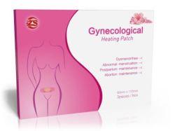 El alivio del dolor, parche Almohadilla para las mujeres la menstruación socorro calambres dismenorrea parche parche calefacción