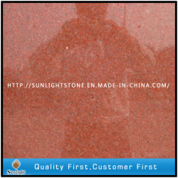 La Chine naturelle pierre rouge carreaux de granit pour cuisine/salle de bains de plancher