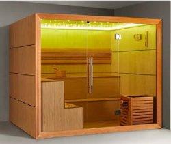 Salle en bois M-6052 de sauna de l'Afrique de personnes neuves du type 6 de Monalisa