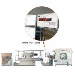 기계를 인쇄하는 권선 유형 레이블 실크 스크린은 Aoi 검사를 추가한다