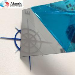 La fábrica China de acrílico de oro de hoja de Espejo Espejo de PMMA de plástico