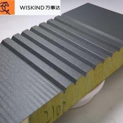 Material de construção 2020 PU/lã/PIR/lã/painel do tipo sanduíche de EPS para Estrutura de aço do Sistema de revestimento de paredes e telhados