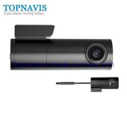 Tableau de bord de la caméra vidéo numérique de voiture avec double optique 2K + 1080P