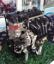 Turbocharged und abgekühlter Zwischenfahrzeugmotor für Kleintransporter